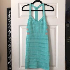 Turquoise Bandage Dress